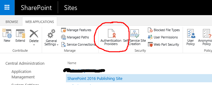 Create Web Application and Site Collection in SharePoint